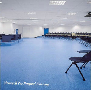 Homogeneous and PVC Floor for Medical and Laboratories Used Flooring pictures & photos