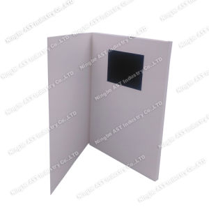 3.5inch Video Booklet, MP4 Player Brochure pictures & photos