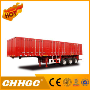 Hot Sale Type Van/Box Carrying Beverage Semi Trailer pictures & photos