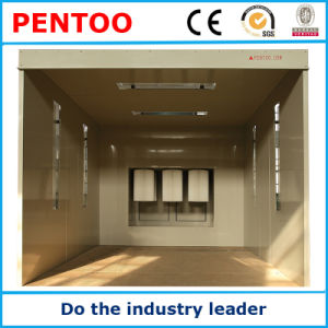 High Quality Manual Powder Coating Booth for Powder Coating Line pictures & photos