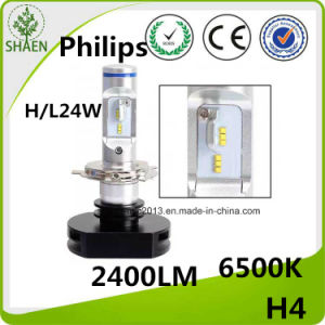 2400lm Philips H4 LED Auto Headlight pictures & photos