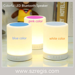 Portable Creative Colorful Light Wireless Bluetooth Speaker pictures & photos