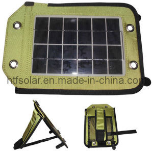 Bracketed Hanging Absorbed Portable 2.5W Solar Energy Travelling Bag Charger for Mobile Phone