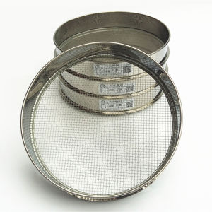 Standard Sieve for Soil/Stone/Sand/Medicinal Powder/Tea Sifting with 15/20/25/30/35/40/50 Cm Diameter pictures & photos