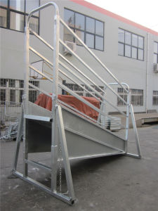 Heavy Duty Strong Cattle Handling Livestock Loading Ramp Cattle Sheep Horse Loading Ramp pictures & photos