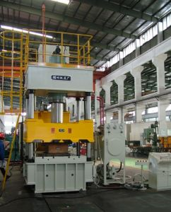 Hjs32-400 Four-Column Hydraulic Press Machine pictures & photos