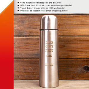 Vacuum Sealed Water Flask Made of Stainless Steel pictures & photos