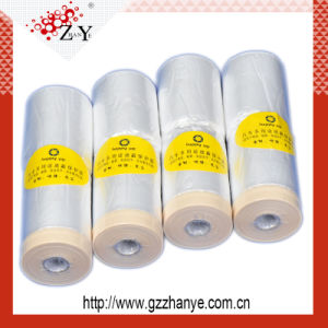Pretaped Masking Film for Car Painting Protection pictures & photos