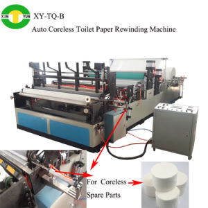 Full Automatic Coreless Toilet Roll Paper Rewinder pictures & photos