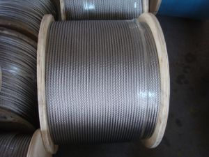 AISI 304, 316 Stainless Steel Wire Rope En 12385-4 pictures & photos