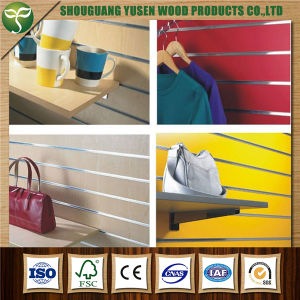 Display MDF Slot Board pictures & photos