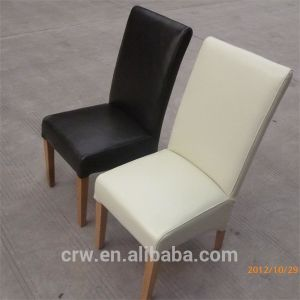 Rch-4062 Morden White Leather Dining Chair for Weddings pictures & photos