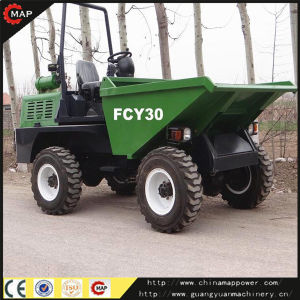China 3.0 Ton Site Dumper Garbage Transfer Truck pictures & photos
