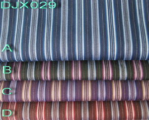 Stripe Polyester Cotton Dobby Fabric Shirting Djx029 pictures & photos