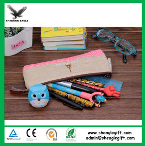 China Direct Factory Sell Canvas Cotton Pencil Case pictures & photos