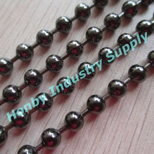 10mm Black Color Metal Ball Chain for Curtain pictures & photos
