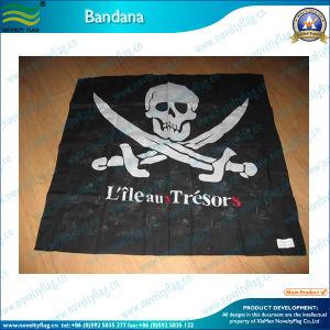 Polyester Skull Logo Bandana (B-NF20F19002) pictures & photos