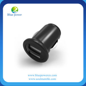 DC 12-24V 2 USB Car Charger for Mobile Phone and Tablet