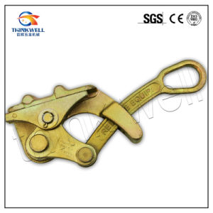 Forged Alloy Steel Cable Grip Wire Rope Grip pictures & photos