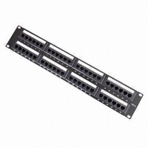 CAT6 UTP Patch Panel with 48 Ports pictures & photos