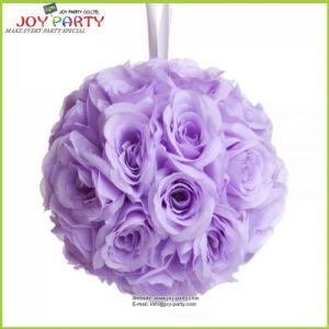 2015 Elegant Lavender Color Rose Ball Wedding Decoration
