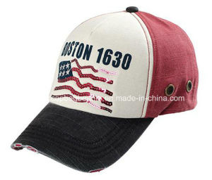100% Cotton High Quality 6 Panel Baseball Cap pictures & photos