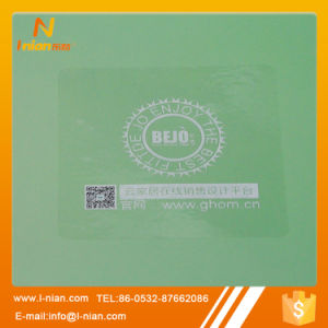 Waterproof Clear Transparent Glass Sticker