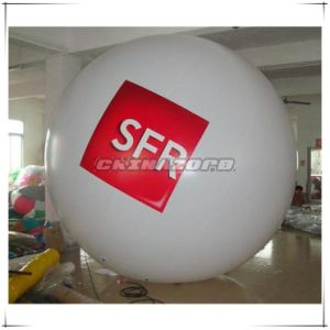 Normal Shape Rounded PVC Inflatable Helium Balloon