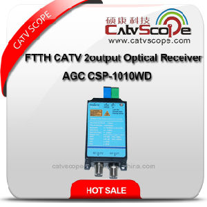 FTTH CATV Optical Receiver Csp-1010wd pictures & photos