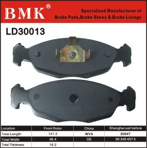 Environment Friendly Brake Pads (LD30013) for Opel pictures & photos