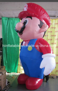 Hot Selling Inflatable Mario Cartoon for Advertising Promotion pictures & photos