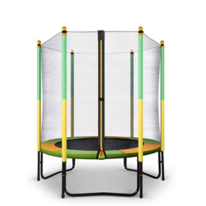 Hot Selling: 55inch Fitness Trampoline with Safety Net pictures & photos