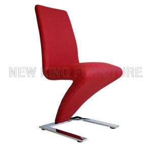 New Model Hot Sell Leather Z Shape Dining Chair (NK-DC004) pictures & photos