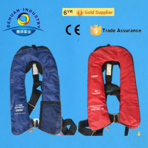 CE Certified 105n Automatic Inflatable Life Jacket