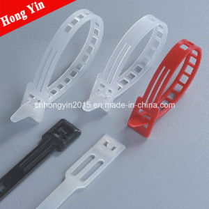 Hys-100 Rapezia Type Cable Tie Nylon Cable Tie pictures & photos