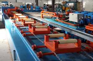50 Tons Full Automatic Hydraulic Drawing Straightening Machine