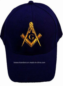 Promotion Embroidery Cap Advertising Navy Blue Logo Embroidered Custom Cotton Leisure Baseball Cap pictures & photos