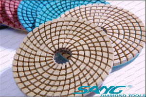 Engineered Stone Polishing Pad for Granite Marble Polishing (SA-062) pictures & photos