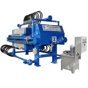 Automatic Filter Press with Drying Function (CE, ISO Approve)