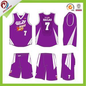 2017 Wholesales Custom Sublimation Basketball Uniform Design pictures & photos