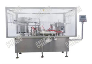 Injectable Vial Filling, Stoppering and Capping Machine pictures & photos