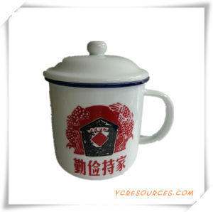 Promotion Gifts for White Mugs Porcelain Cup with Logo Ha08005 pictures & photos