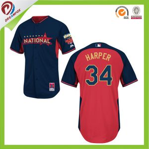 Sublimated High Quality New Style Customized Baseball Jersey Supplier pictures & photos