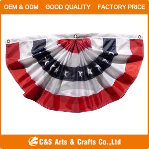 Custom USA Pleated Fan pictures & photos
