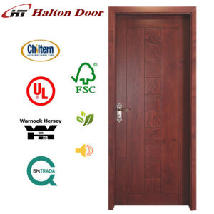 Interior Flush Sapele Wooden Door for Living Project