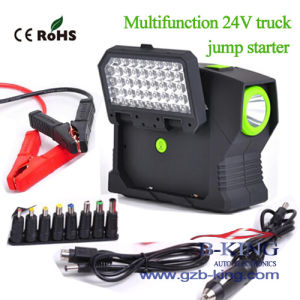 Portable 24V Truck Car Jump Starter Power Bank pictures & photos