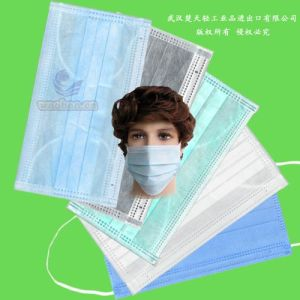 Disposable PP Safety Face Mask with Elastic or Ties pictures & photos
