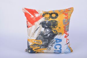 Sublimation Colorful Printed Customized Decorative Pillow pictures & photos