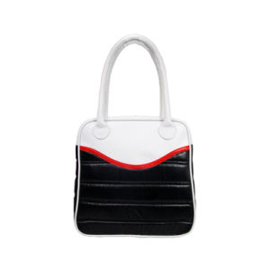 PU Lady Handbag Fashionable Clothing Fabric Shoulder Bags pictures & photos