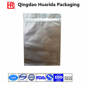 High Temperature Resistance Aluminum Foil Resealable Food Packaging Bag pictures & photos